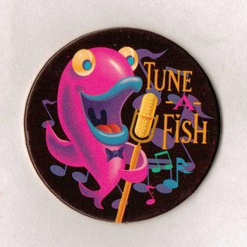 Funky Fish Collector Caps (Gorton's Fish Promo)