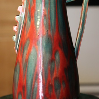 Large Awaji Vase - Japanese Art Deco