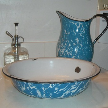 Graniteware Wash Basin