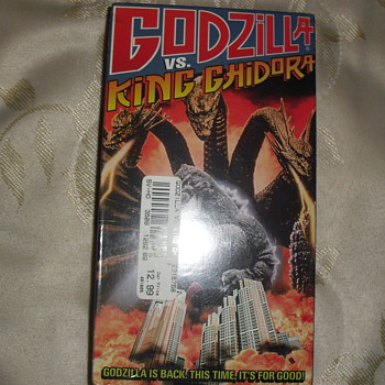 Godzilla Vs King Ghidora Vhs - Movies