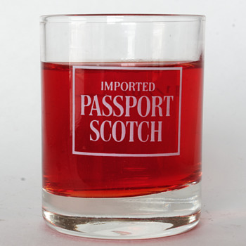 Passport Scotch Measuring Glass….