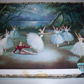 'Giselle' Wooden Jig Saw Puzzle by SEABOARD - Games