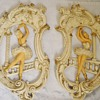 1961 Universal Statuary Corp. Ballet Dancer Wall Plaques
