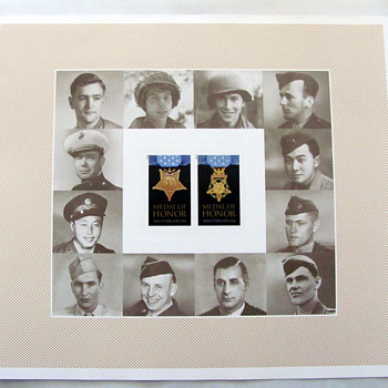 New Medal of Honor Stamp Honoring WWII Veterans - Stamps