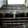 Antique Salesman Trunk
