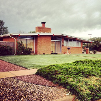 A Mid-Century Modern House my Grandfather Built