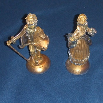 Venetian art glass figurines