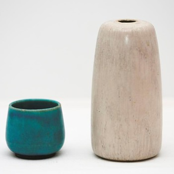 Three Vases from Saxbo (Denmark), 1929-30 and 1950's