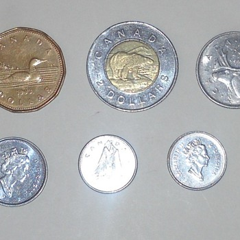 Canadian coins - World Coins