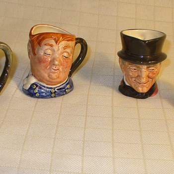 Royal Doulton charcater jugs...mini