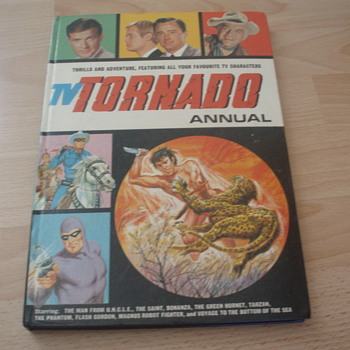 TV TORNADO ANNUAL 1969 - Books