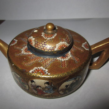 Pretty Little Japanese (?) Teapot - Asian