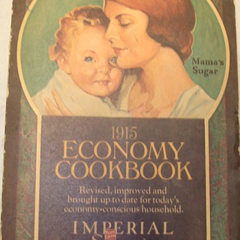 1915 Economy Cookbook / Imperial Sugar