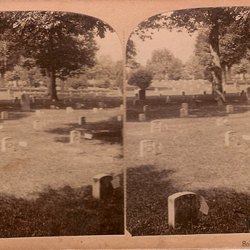 Arlington Cemetery Stereoview