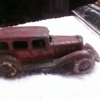 Pre-War Tootsie Toy cars like my father played with have endured years of playwear