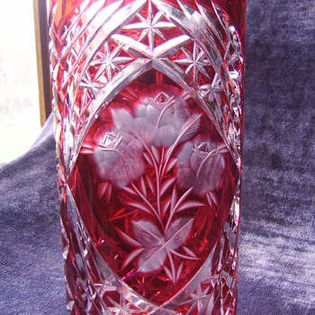 Cut to Clear? Stunning! Vase - but what is it?? - Art Glass