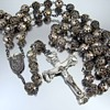 Barbaras sterling silver vintage sterling silver rosary beads and crucifix