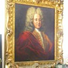 Antique Sir Isaac Newton Original Oil Painting by Godfrey Kneller W/Orig Frame 1690&#039;s