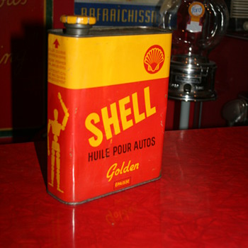 shell oil can