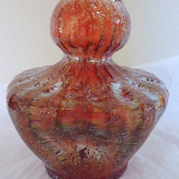 Dugan Pompeii Red - Art Nouveau