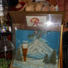 Rainer Beer lighted sign and wall plaque sign