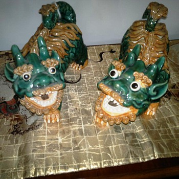 A Pair of Asian  Lions ?