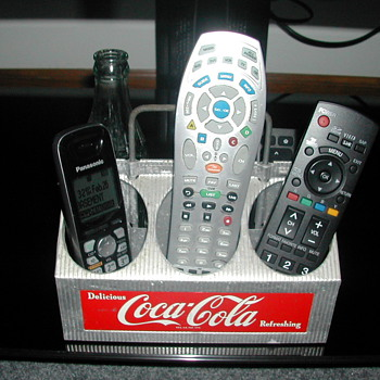Vintage Coca-Cola TV Remote Holder - Coca-Cola