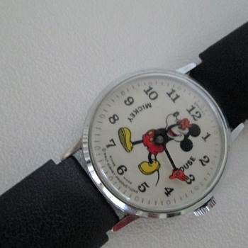 Bradley boy-size wind up Mickey watch - Wristwatches