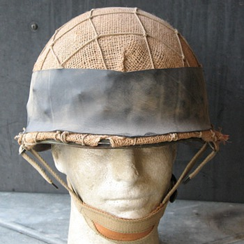 Israeli M1 steel helmet Yom Kippur War 1973 - Military and Wartime