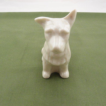 Belleek Cairn Terrier Dog Figurine - 7th mark - Pottery