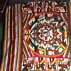 Indian (Native American) blanket: strange figures--like pictographs