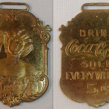 1907 Coca-Cola Watch Fob