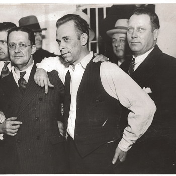 John Dillinger Photo and The Old Sheriff's House - Photographs