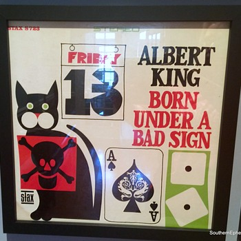 Albert King Born Under A Bad Sign, Stax Records - Records