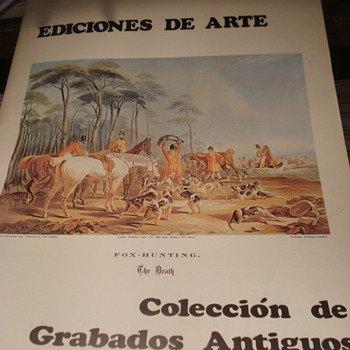 Edicions de Arte - Collection of Grabados Antiques