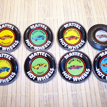 Hot Wheel badges