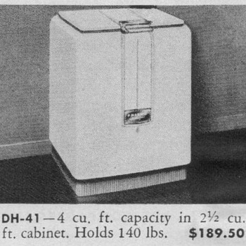 1950 - Philco Freezer Advertisements - Advertising