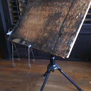 "Antique ""Peerless"" Drafting Table"