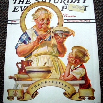 J.C. LEYENDECKER'S THANKSGIVING COVERS VI - Paper