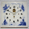 Dutch Ceramic Tile 8-Day Clock