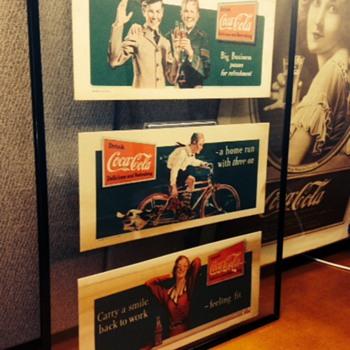 1930's Coca Cola Blotters
