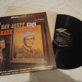 Roy Acuff Sings Hank Williams - Records