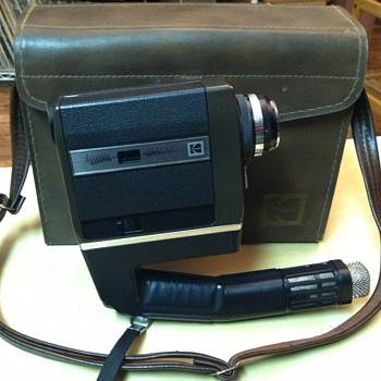 Kodak Ektasound 240 Sync-sound Super-8 Camera
