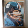 Y.A. Tittle wearing Giants uniform, also played for Colts & the S.F. 49er's