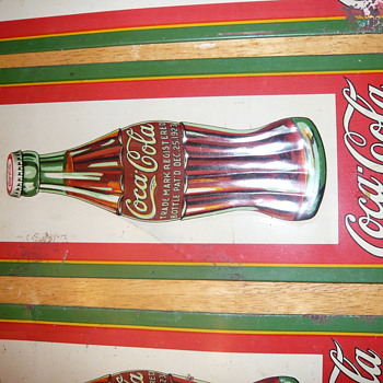 coke sign lot 1931 - Coca-Cola