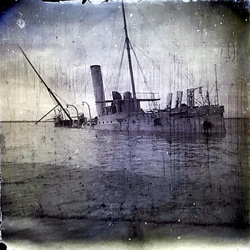 Dry Plate Glass Photo Negatives from 1898 Spanish-American War