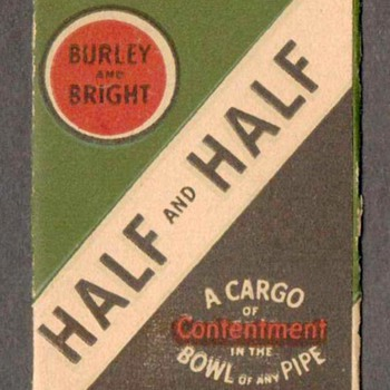 Burley and Bright Tobacco Label - Tobacciana