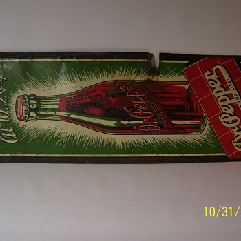 Dr Pepper - South Dakota Tins - Signs