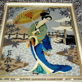 Japanese Tapestry Art - Asian