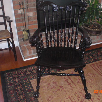 Victorian era chair